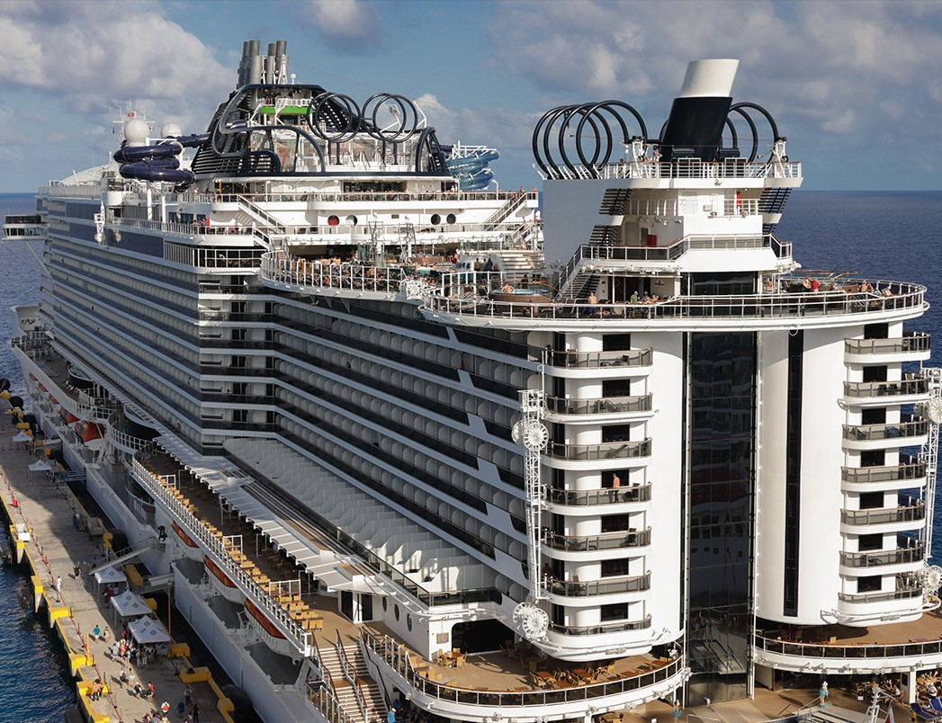 Cruise Ship Tourism Booming - Largest cruise ship engines
